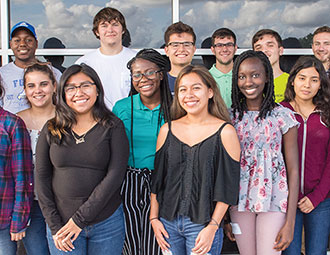 Spotlight of FGCU jubilee scholarship recipients.