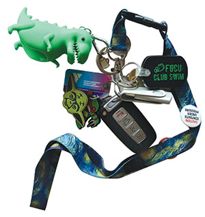 Photo of keys for objects of affection articls - T-Rez dinosaur