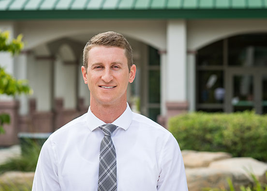 Photo shows FGCU physician assistant graduate student