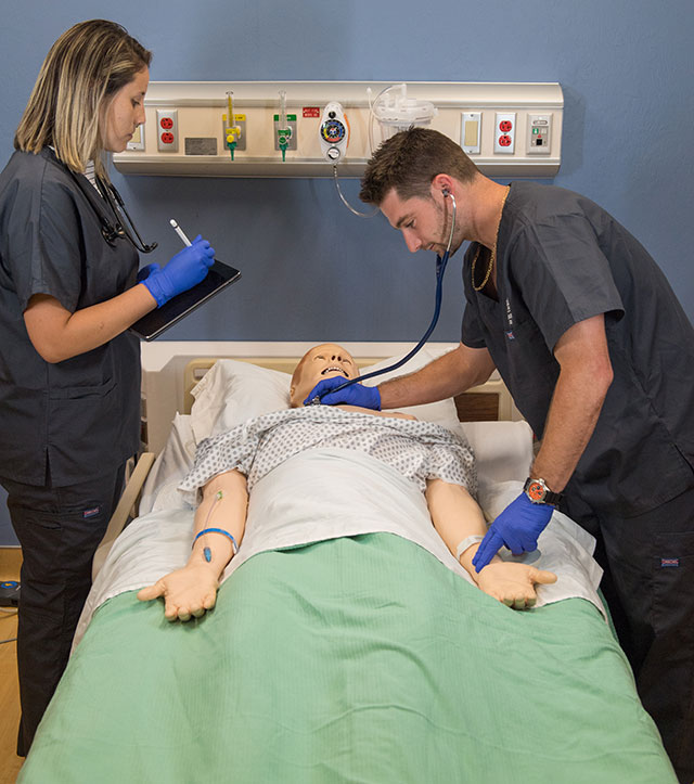 Students in FGCU's physician assistant master's program. (Credit: FGCU360)