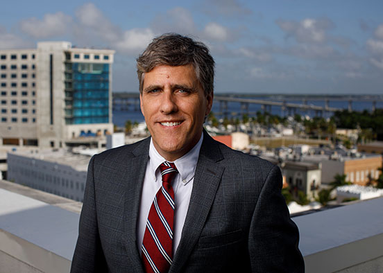 photo shows Christopher Westley is the new dean of FGCU's Lutgert College of Business.