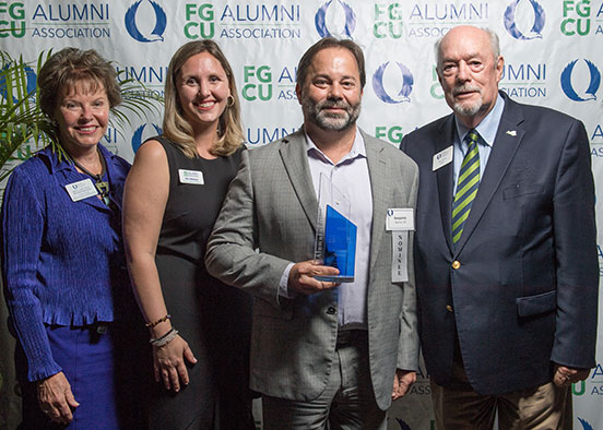 Photo shows FGCU Alumni Awards