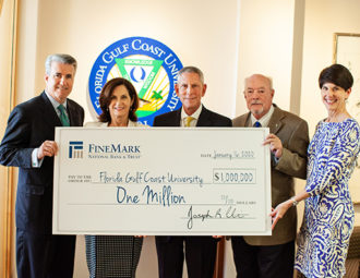 FineMark gift advances entrepreneurship center toward goal