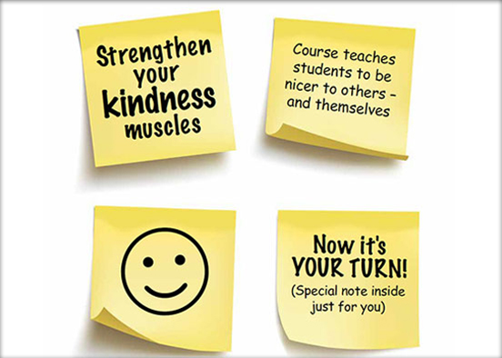 Kindness Sticky notes