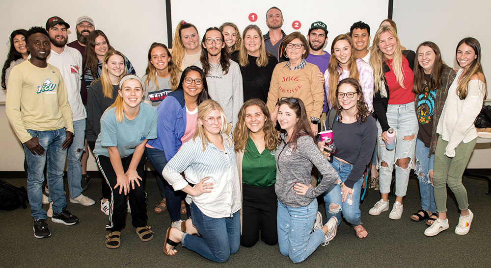 FGCU students from Kindness Class