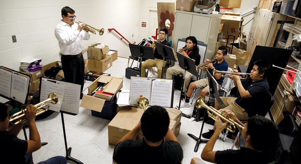 FGCU music practice room.
