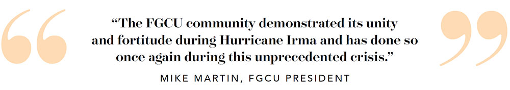 Quote by President Martin.