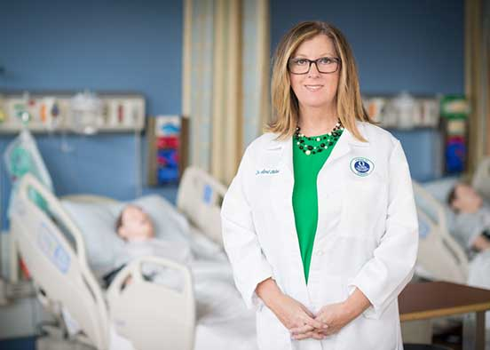 photo shows FGCU nursing professor