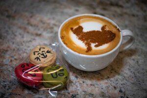Photo shows coffee