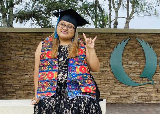 Love of community translates to career choice for social work grad