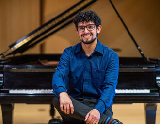Piano student strikes a chord with WhatsApp concerts