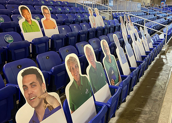 Faces in the crowd at FGCU basketball will be a fixture