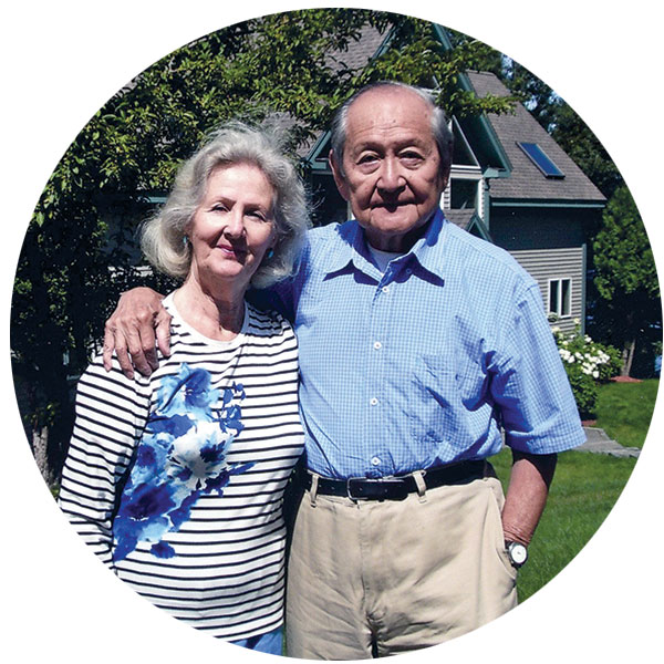 Cecile and David Wang were among the original supporters of the FGCU Food Pantry.