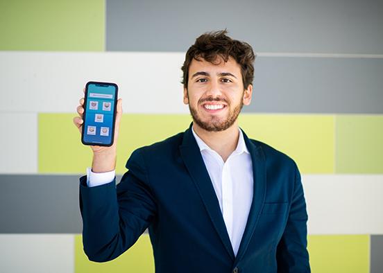FGCU signs on to entrepreneurship major's mental-health app