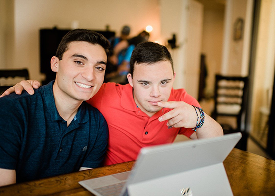 Student's youBelong family of apps inspired by brotherly love