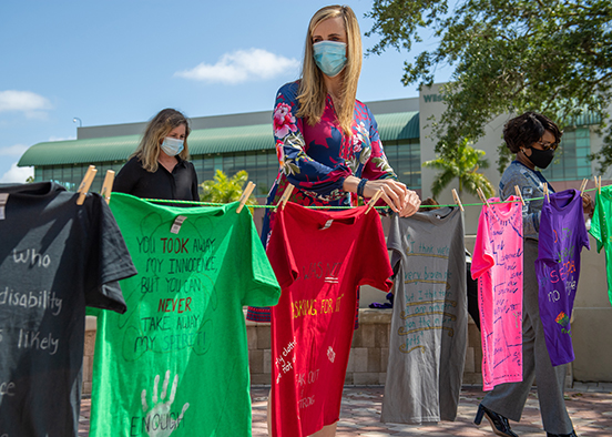 Clothesline Project weaving the thread of collective healing