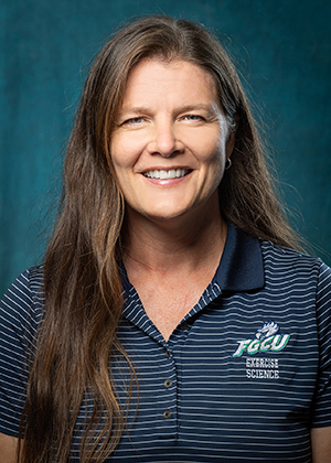 photo shows FGCU faculty member