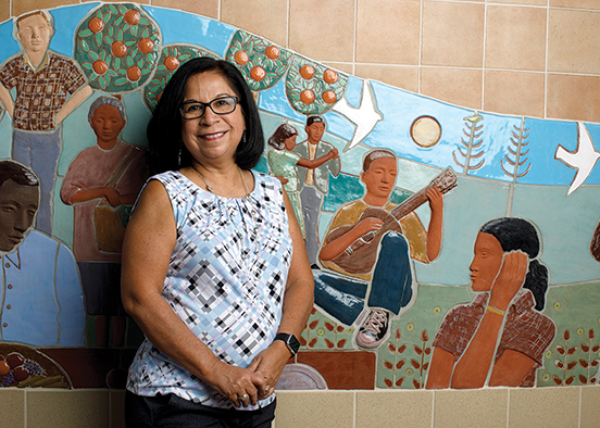 Alumna finds fulfillment working with children of farmworkers