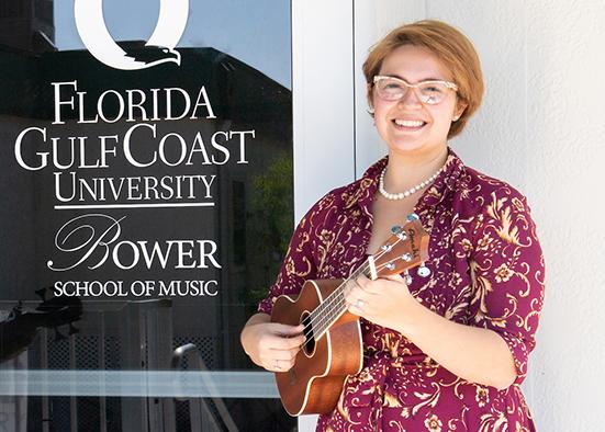 photo shows FGCU alumna