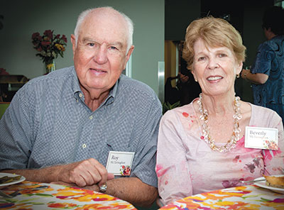 Photo of Dr. McTarnaghan and wife, Beverly.