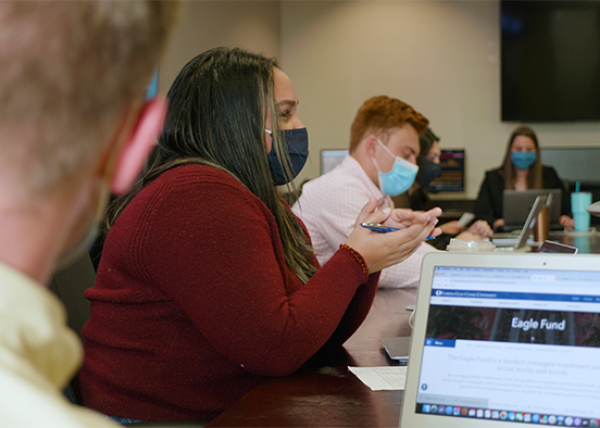 Eagle Fund soars with careful tending by business students