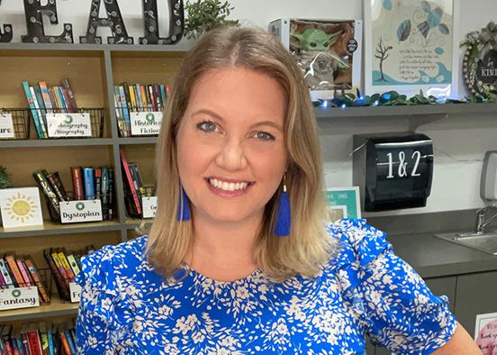 Alum's TikToks inspire fellow teachers, attract following