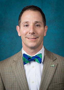 Photo shows FGCU administrator