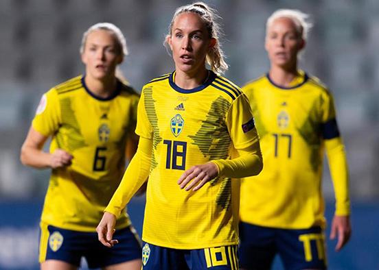 Women's soccer alumna kicks off Olympics with Sweden