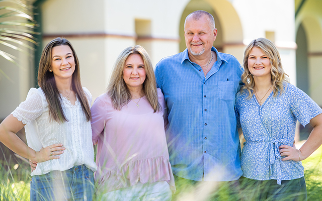 Photo shows family of teachers